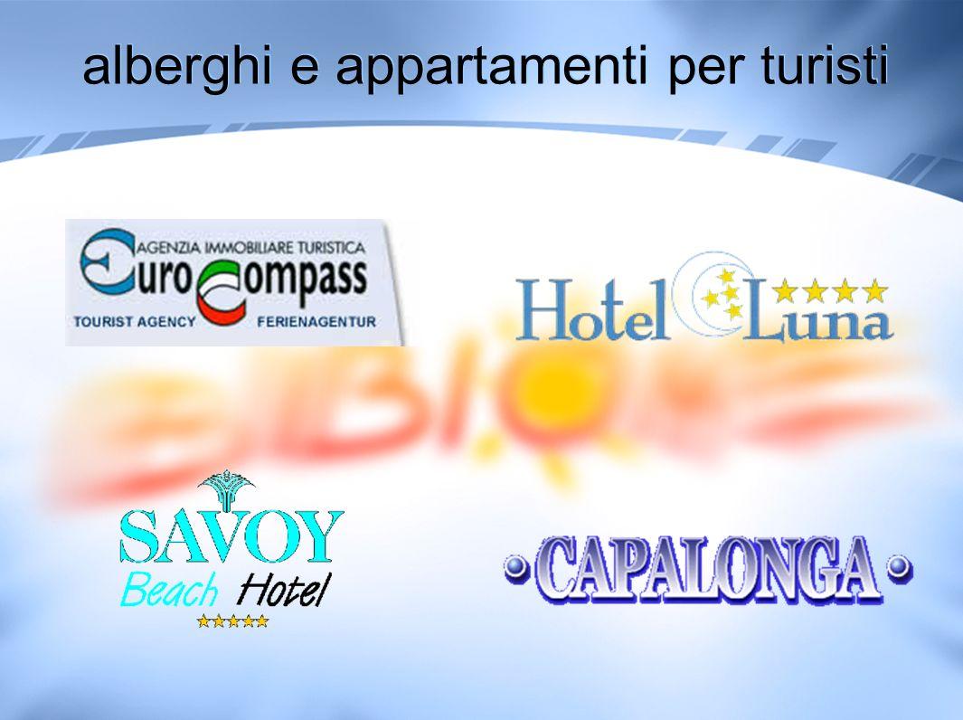 alberghi e appartamenti per turisti