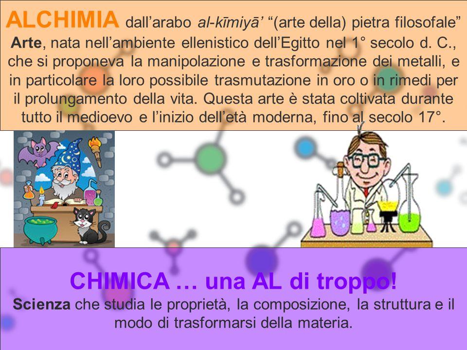 CHIMICA … una AL di troppo!