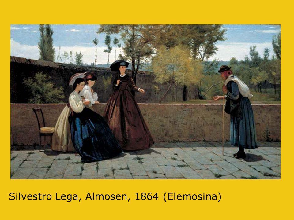Silvestro Lega, Almosen, 1864 (Elemosina)