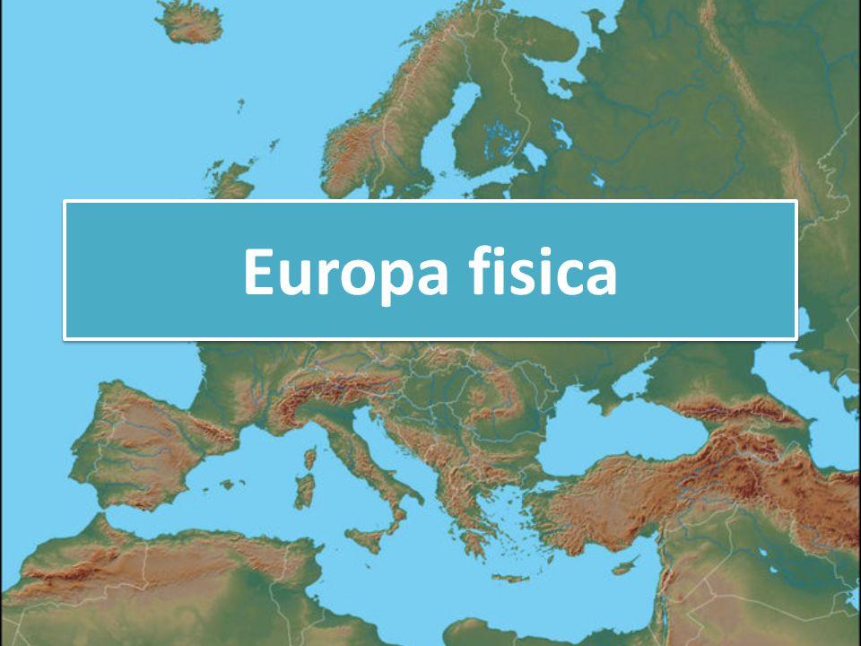 Cartina Europa Fisica Muta.Europa Fisica