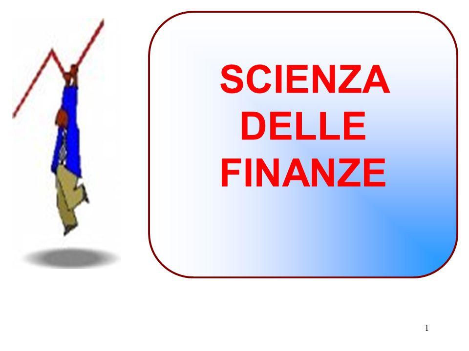 SCIENZA DELLE FINANZE 1 1