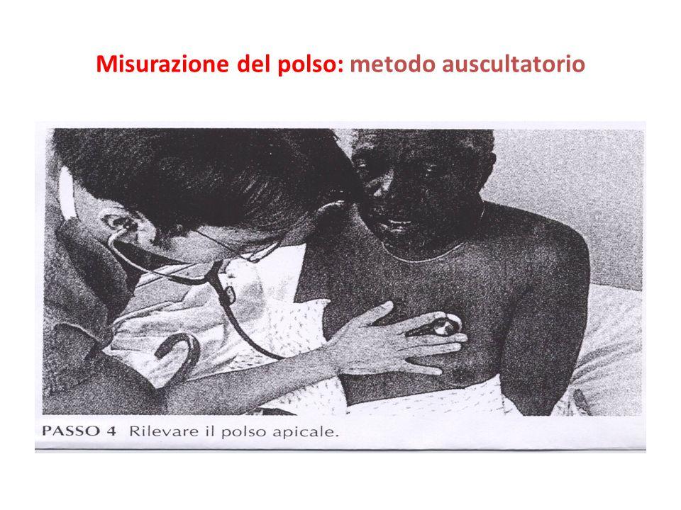 Misurazione del polso: metodo auscultatorio