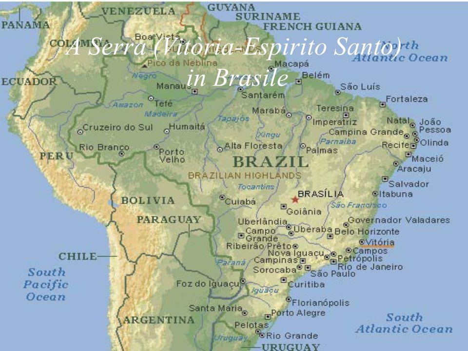A Serra (Vitòria-Espirito Santo) in Brasile