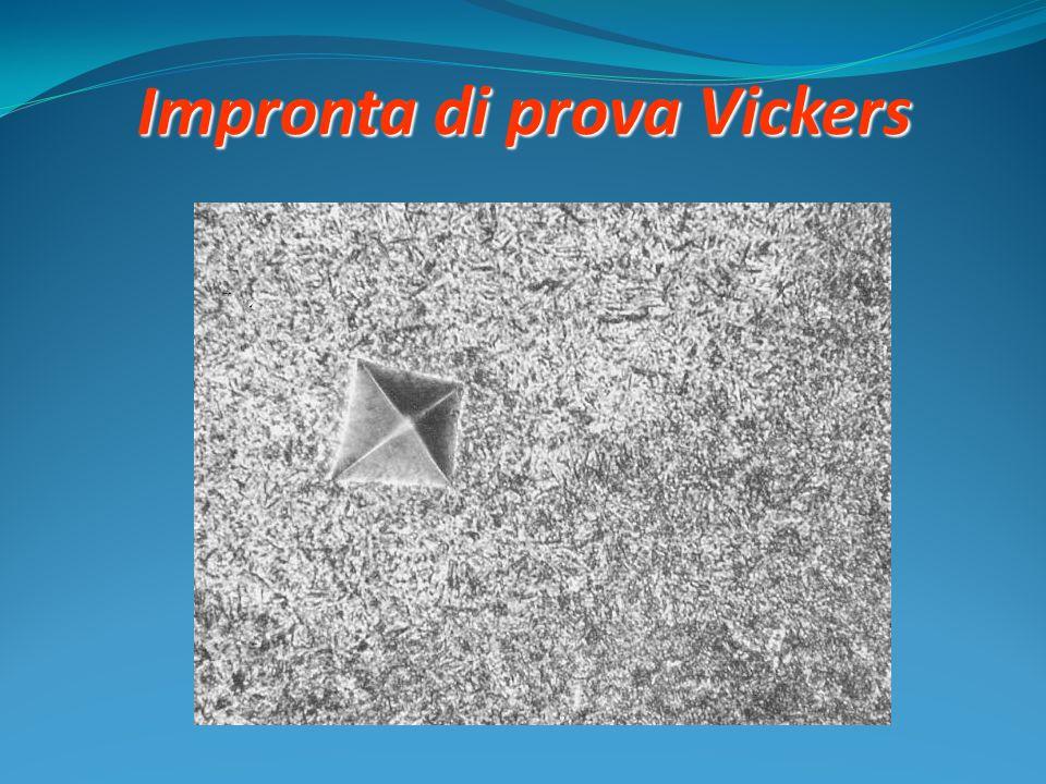 Impronta di prova Vickers