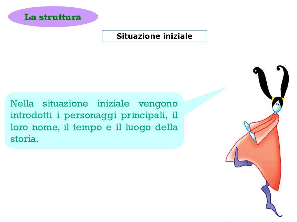 La struttura Situazione iniziale.