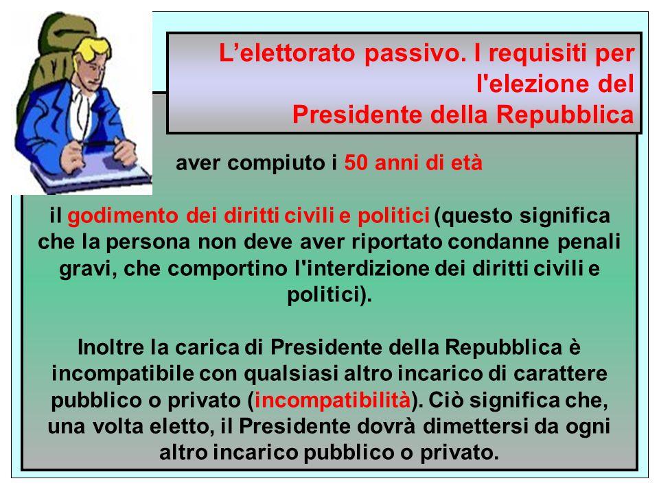 la cittadinanza italiana aver compiuto i 50 anni di età