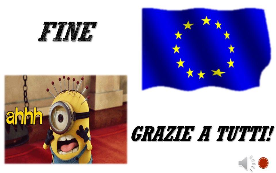 FINE GRAZIE A TUTTI!