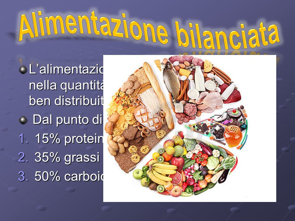 Alimentazione bilanciata