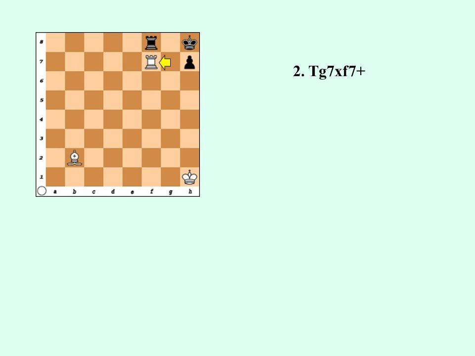2. Tg7xf7+
