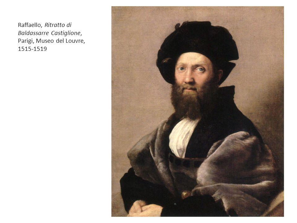 Raffaello, Ritratto di Baldassarre Castiglione, Parigi, Museo del Louvre, 1515-1519