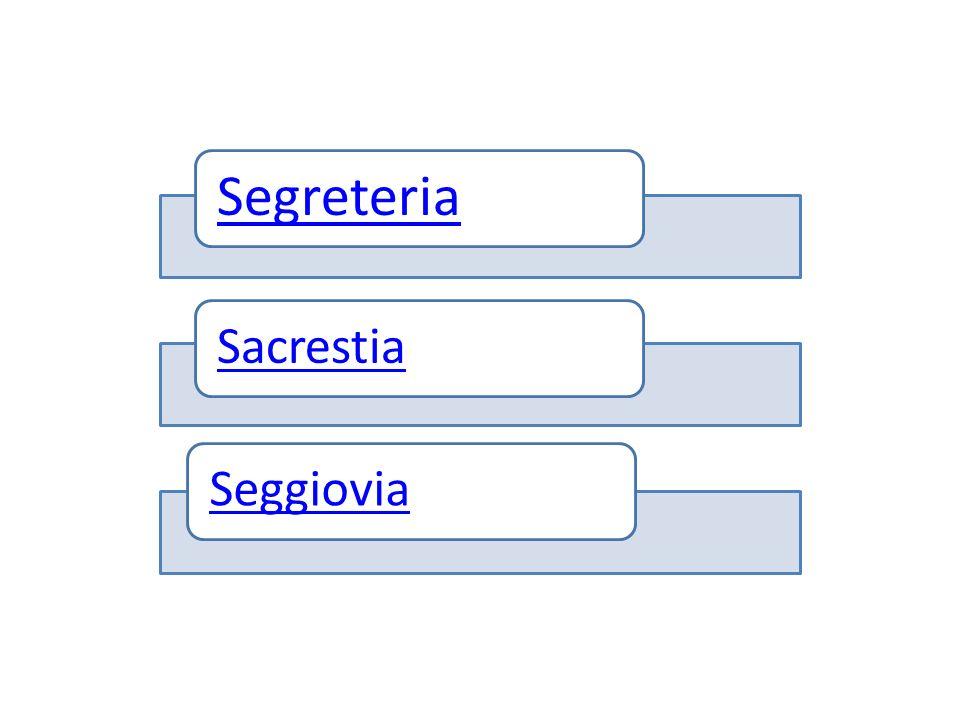 Segreteria Sacrestia Seggiovia