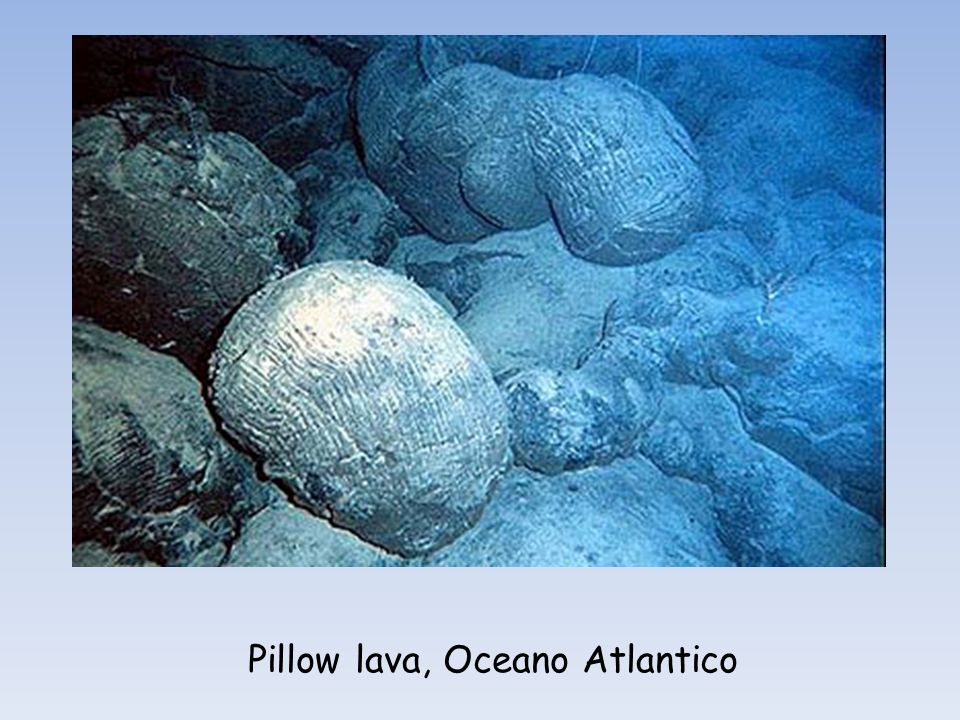 Pillow lava, Oceano Atlantico