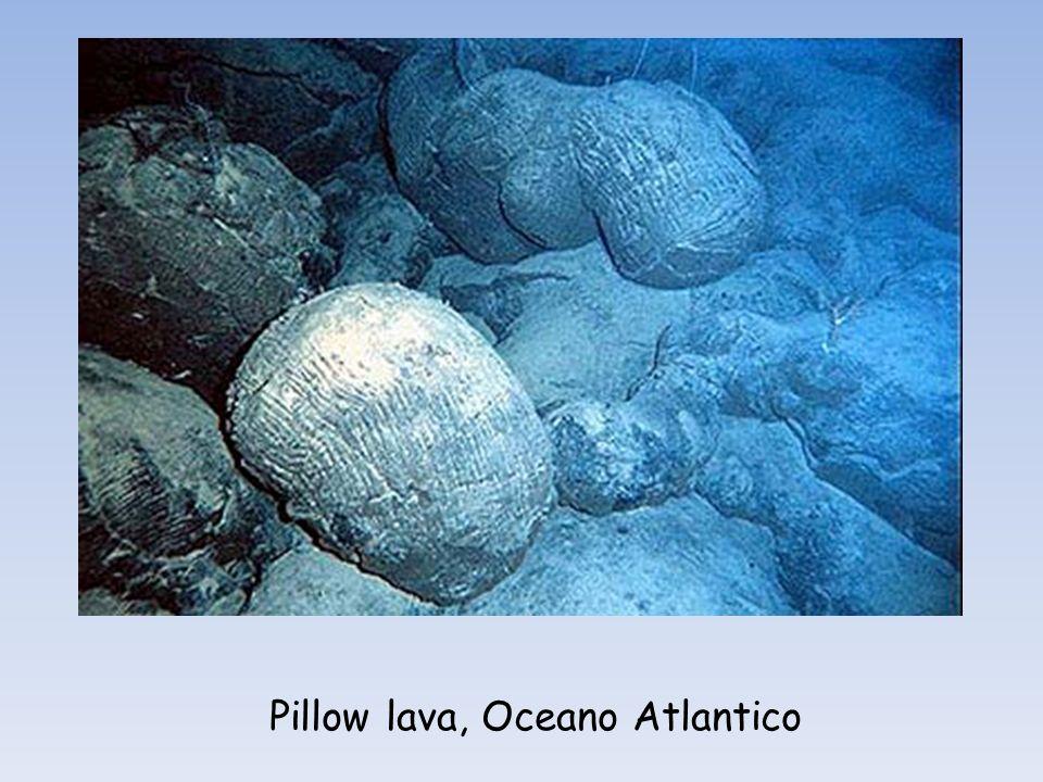 Pillow lava, Oceano Atlantico