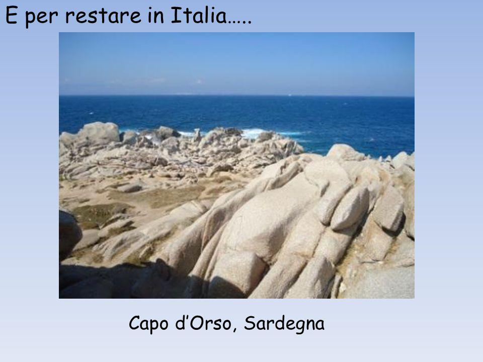 E per restare in Italia…..