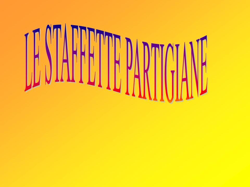 LE STAFFETTE PARTIGIANE