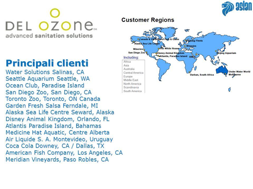 Principali clienti Water Solutions Salinas, CA