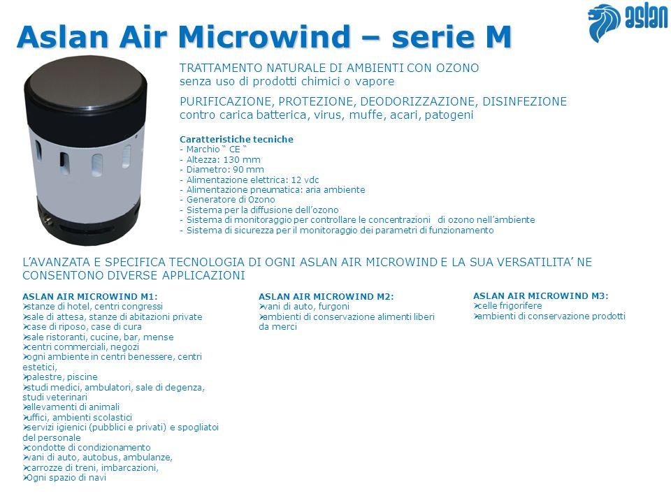 Aslan Air Microwind – serie M