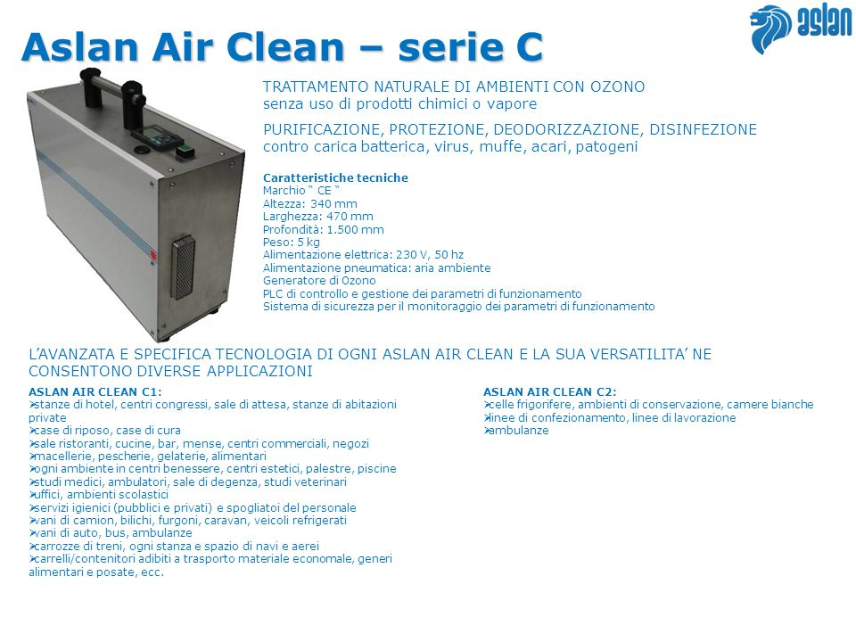 Aslan Air Clean – serie C