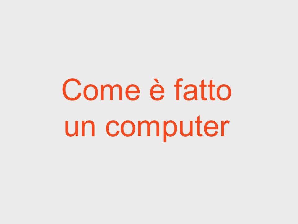 Come è fatto un computer