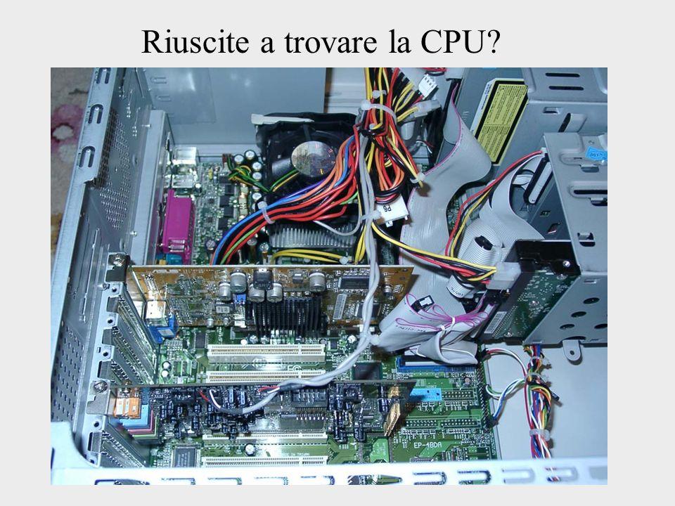 Riuscite a trovare la CPU