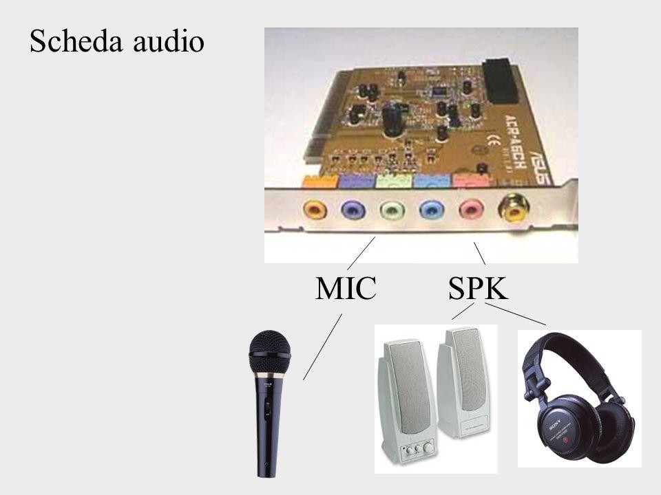 Scheda audio MIC SPK