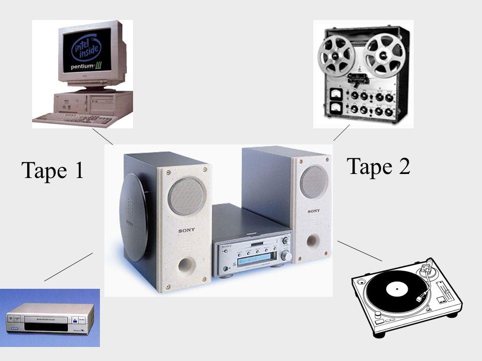 Tape 2 Tape 1