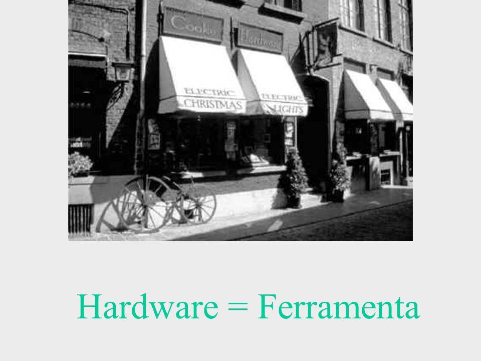 Hardware = Ferramenta