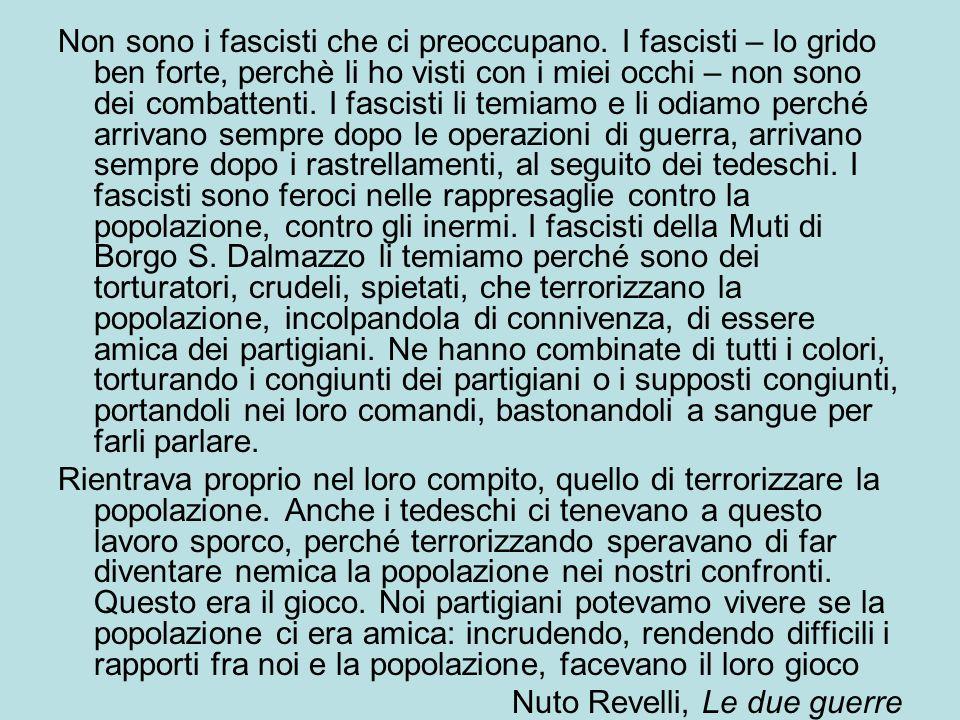 Non sono i fascisti che ci preoccupano