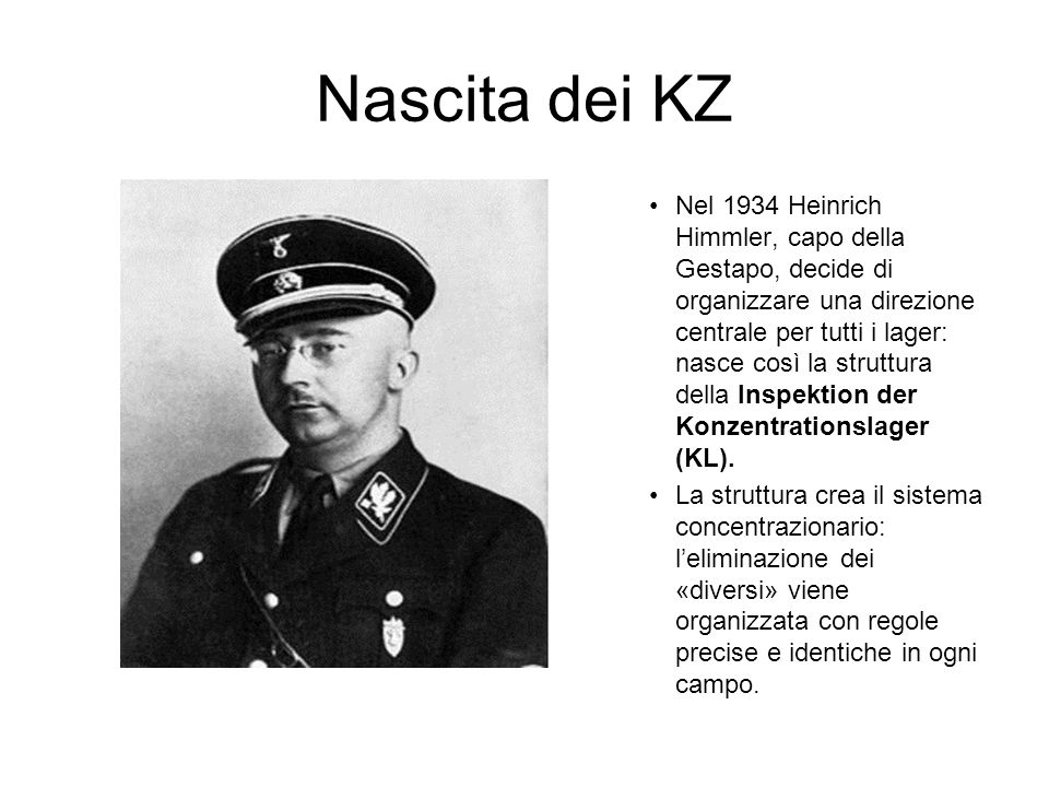 Nascita dei KZ