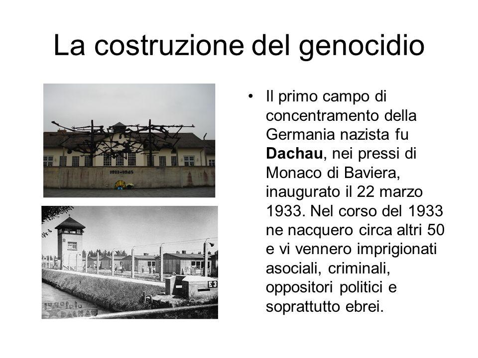 La costruzione del genocidio
