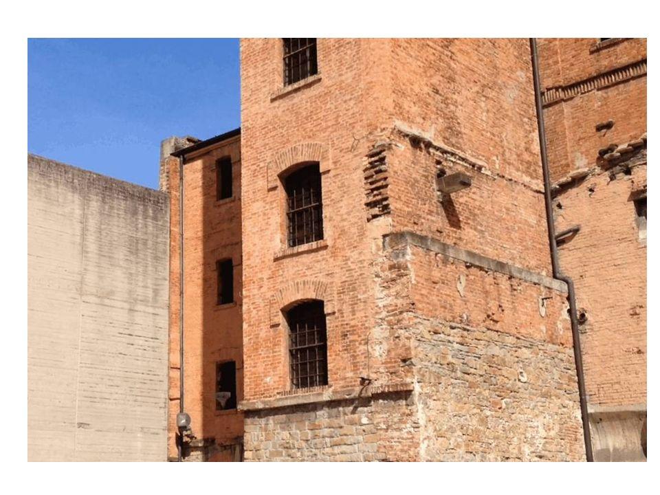 Mura della Risiera di San Sabba.