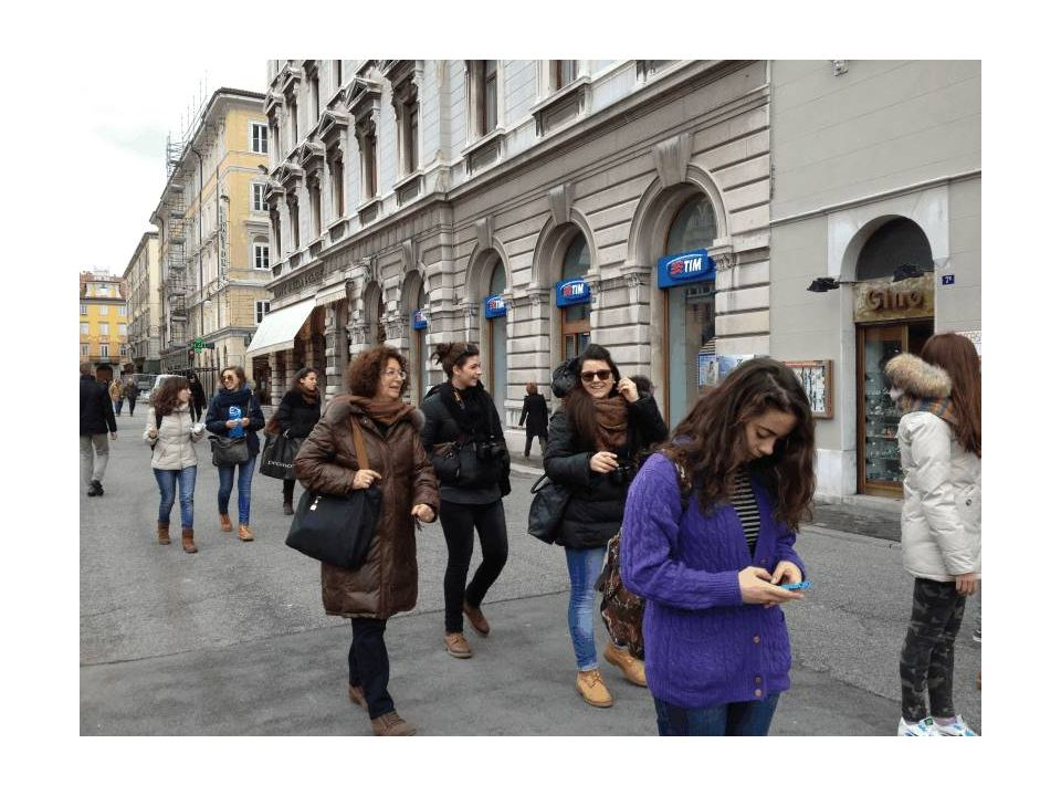 In giro a piedi per Trieste