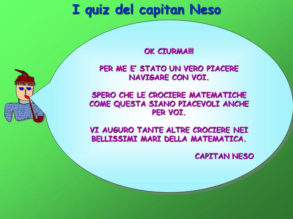 I quiz del capitan Neso OK CIURMA!!!