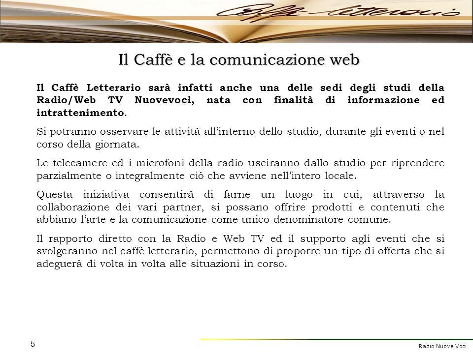 Il Caffè e la comunicazione web