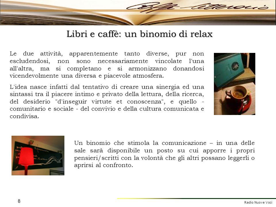 Libri e caffè: un binomio di relax