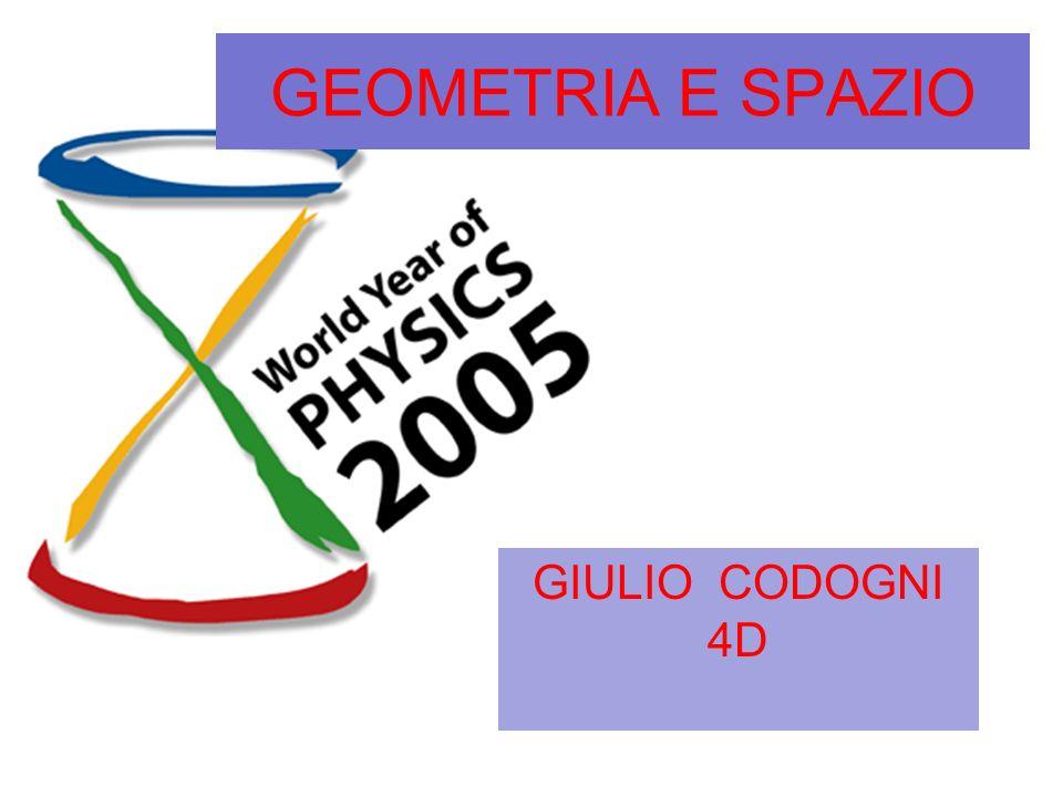 GEOMETRIA E SPAZIO GIULIO CODOGNI 4D