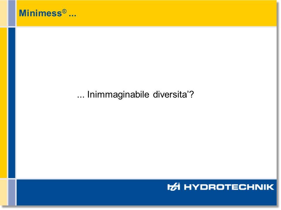 Minimess® ... ... Inimmaginabile diversita'