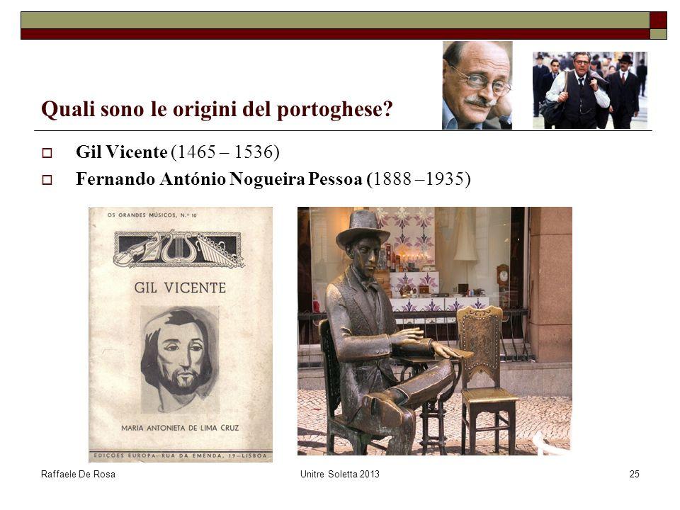 Quali sono le origini del portoghese