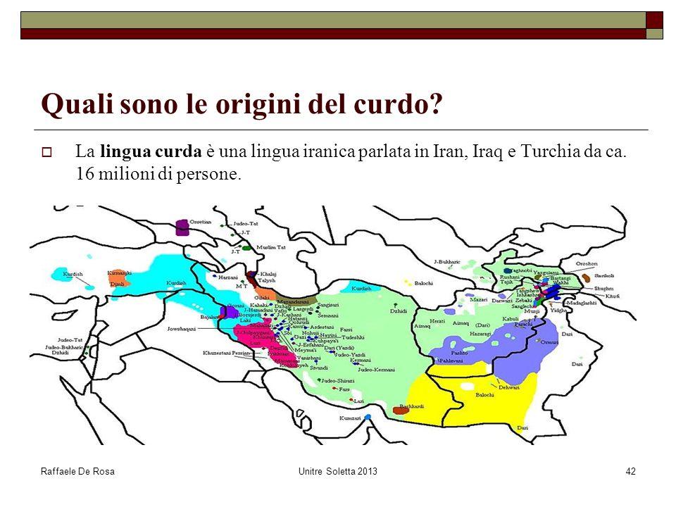 Quali sono le origini del curdo