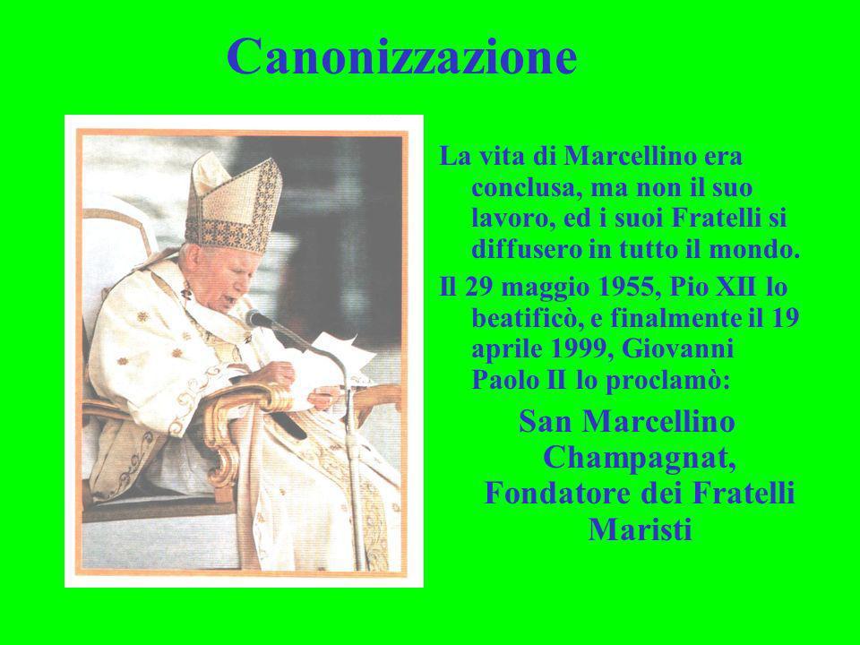 San Marcellino Champagnat, Fondatore dei Fratelli Maristi