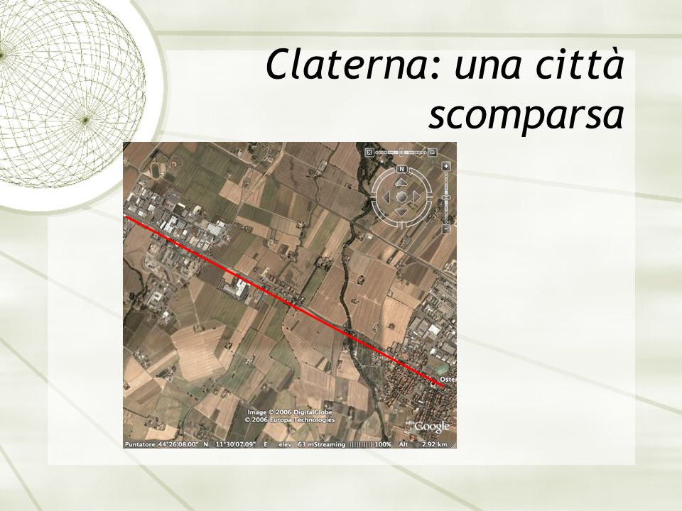 Claterna: una città scomparsa