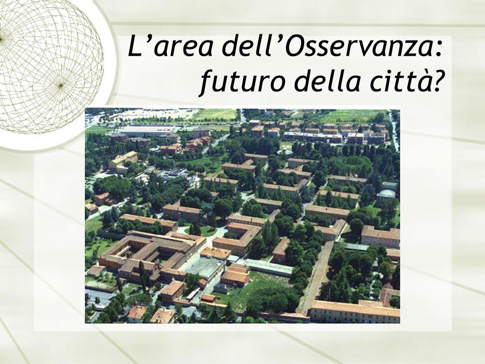L'area dell'Osservanza: futuro della città