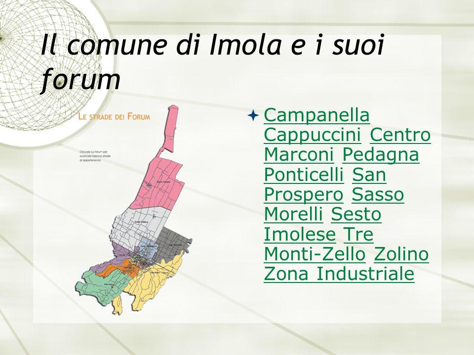 Il comune di Imola e i suoi forum