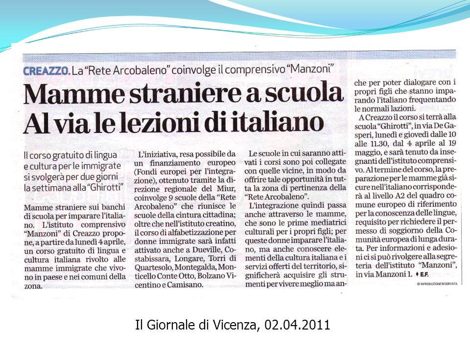 Il Giornale di Vicenza, 02.04.2011