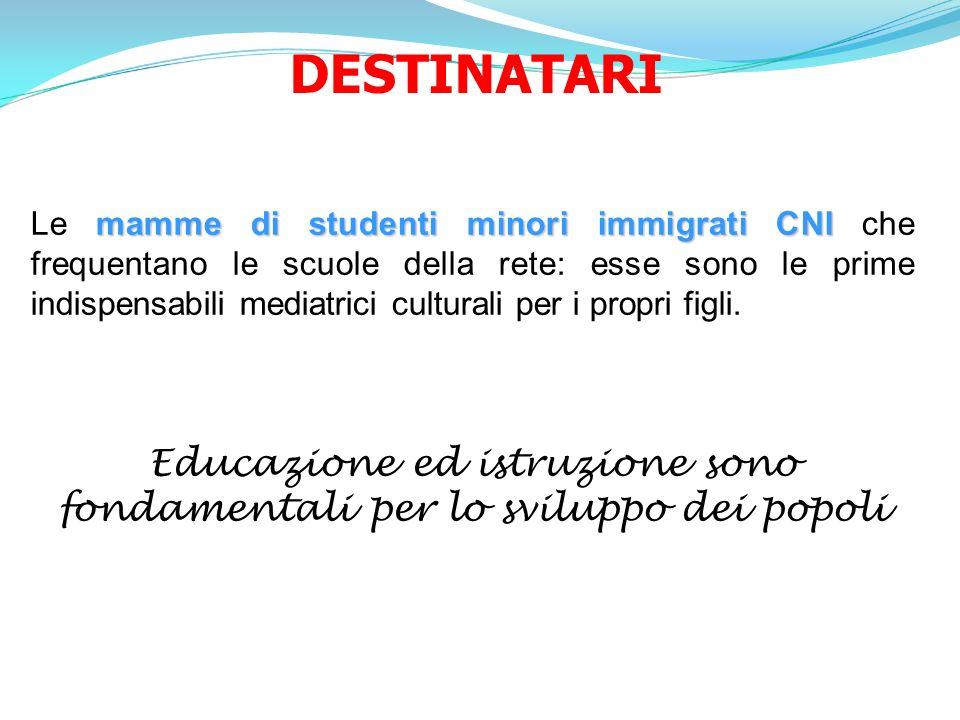 Educazione ed istruzione sono fondamentali per lo sviluppo dei popoli