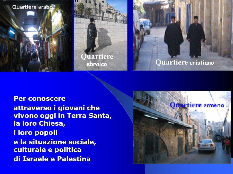 Quartiere ebraico Quartiere cristiano