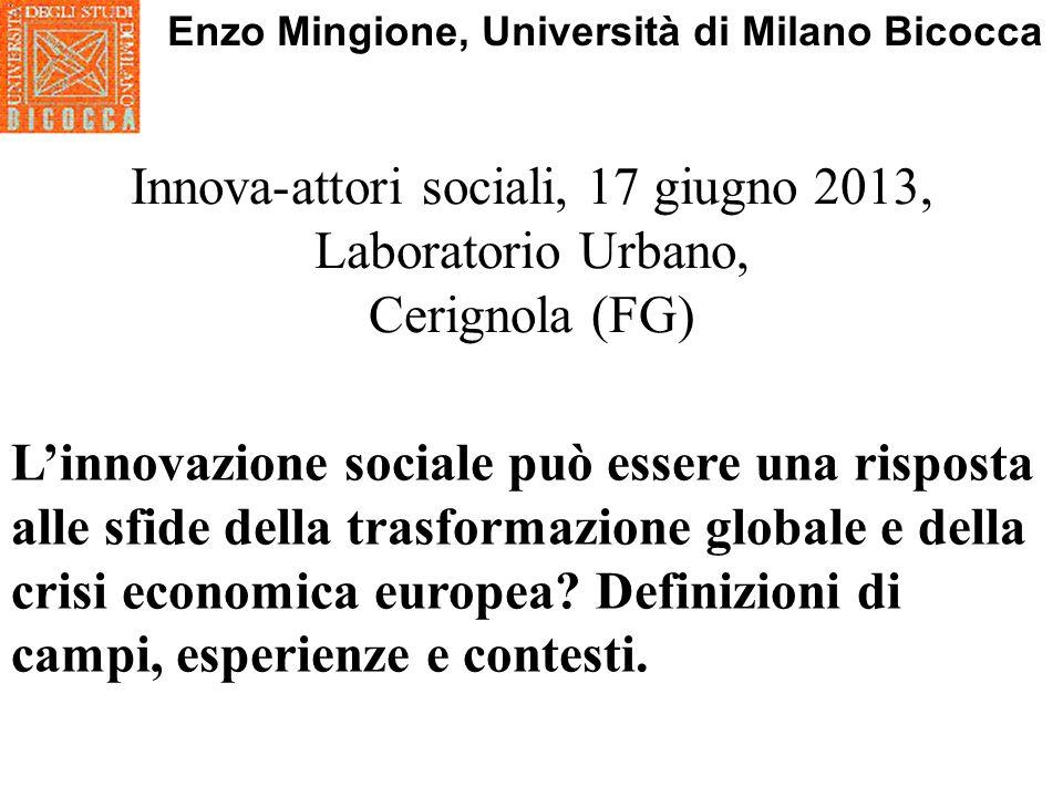 Enzo Mingione, Università di Milano Bicocca