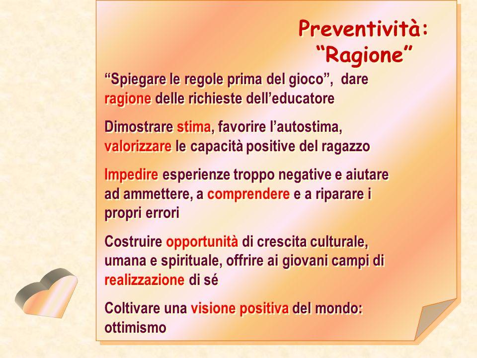 Preventività: Ragione
