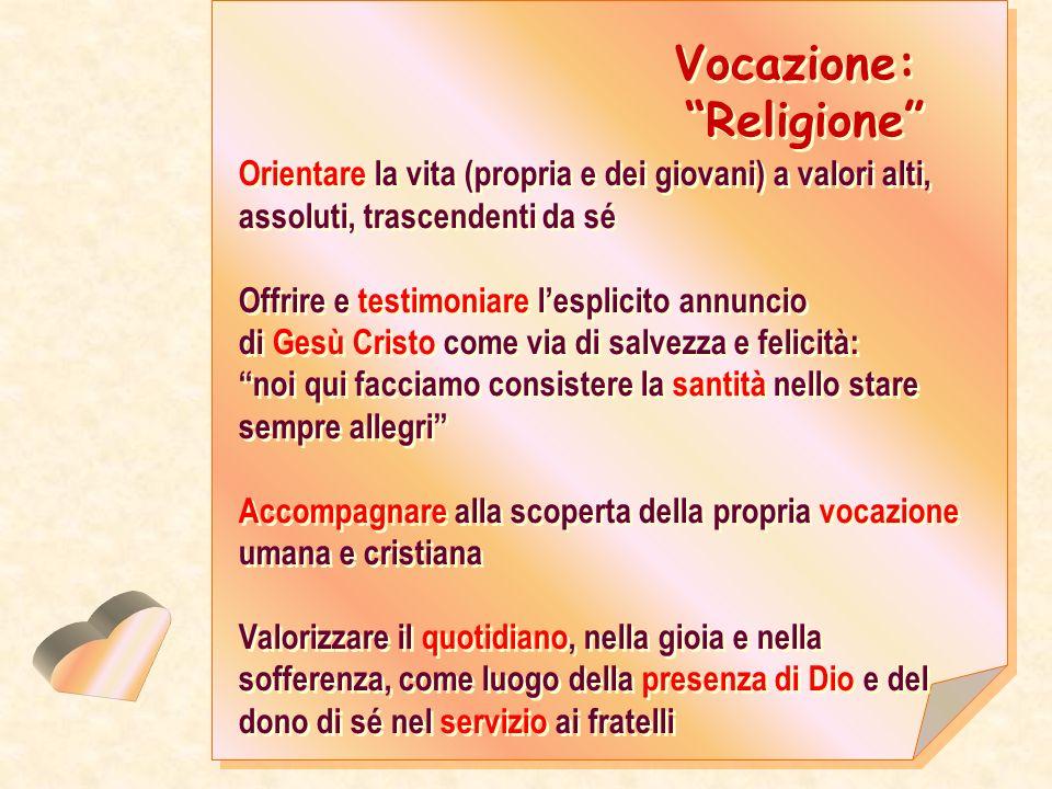 Vocazione: Religione