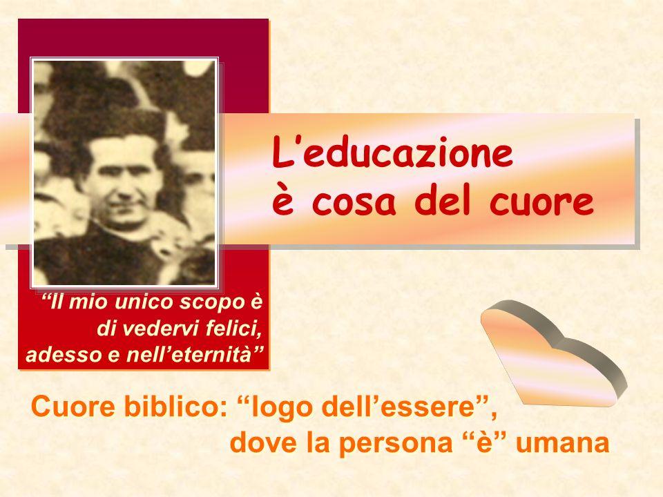 L'educazione è cosa del cuore